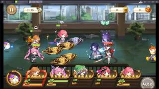 [Girls X Battle] Sky Tower 91~97F Cleared ( watch in my comment )