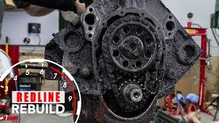 Chevy Small-Block Engine Rebuild Time Lapse