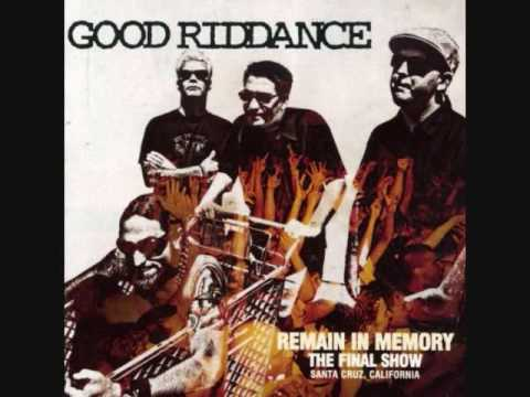 Indoctrination de Good Riddance Letra y Video