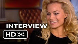 The Wolf of Wall Street Interview - Margot Robbie (2013) - Leonardo DiCaprio Movie HD