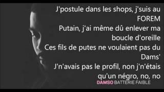 DAMSO -  Exutoire (paroles)
