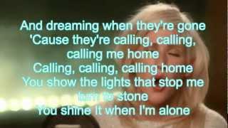 [HD] Ellie Goulding - LIGHTS - Acoustic Version - Karaoke/Instrumental - with Lyrics on Screen