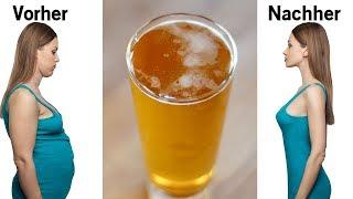 Koche nur 2 Zutaten & trinke diese vor dem Schlafen gehen und du wirst Gewicht über Nacht verlieren!