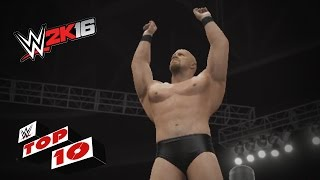 Increíbles finishers de la Attitude era en WWE 2K16