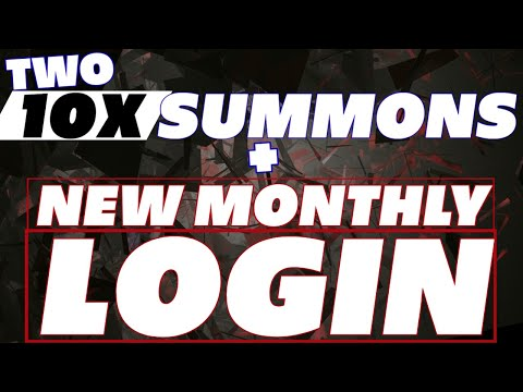 Two 10x SUMMON EVENT & NEW login rewards starting JAN Raid Shadow Legends update