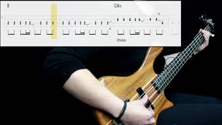 Gorillaz - Tomorrow Comes Today (Bass Cover) (Play Along Tabs In Video) width=