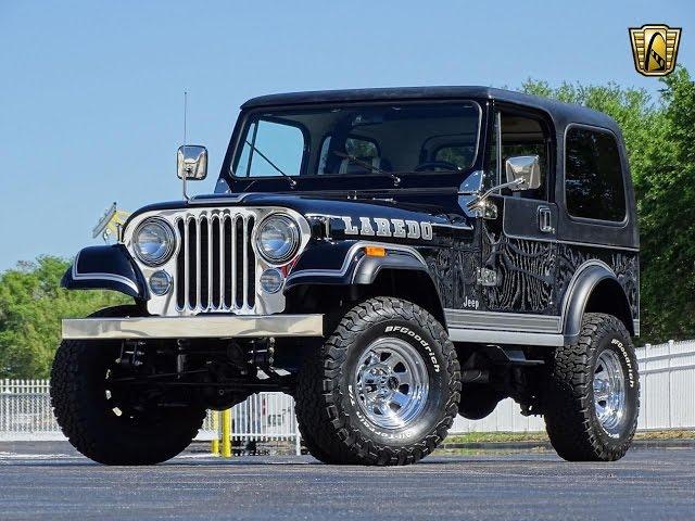 1983 Jeep CJ7 Laredo Gateway Orlando #772