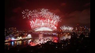 Sydney's spectacular new year 2018 firework display