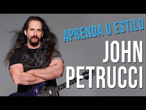 JOHN PETRUCCI - ESTILO DE GUITARRA