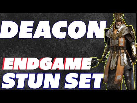 Deacon Armstrong! Endgame stun build Energizer stunner Raid Shadow Legends