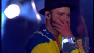 Rock in Rio 2017- Justin Timberlake se emociona- encerramento do show