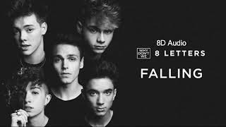 Falling - Why Don't We | Audio 8D | editsxannie
