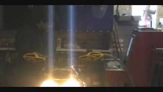 Engine Dyno test run Ski-doo Mxz 440 xxx 2006 snowmobile. Land and Sea dynomite Dynamometer