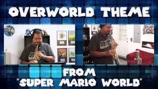 "Overworld Theme (From ""Super Mario World"") Soprano Saxophone Game Cover"