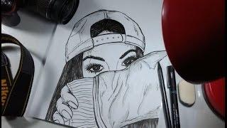 Desenhando GAROTA Tumblr - Traços de HQ