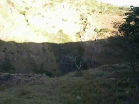 Interior Cráter Volcán El Hoyo