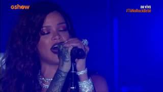 Rihanna Unfaithful Live at Rock in Rio 2015 HD