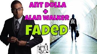 Alan Walker - Faded(RAP REMIX/COVER) Clean Lyrics Video  #172