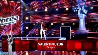 Valentin Uzun - Gas Gas (Goran Bregovic) - Vocea Romaniei 2014- Auditii pe nevazute Ep. 2
