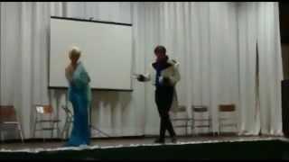 Vejo uma porta Abrir - Cosplay - Hans e Elsa