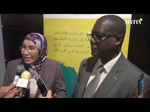 Video : Adaptation au changement climatique : Des acteurs nationaux et territoriaux africains en formation à Casablanca