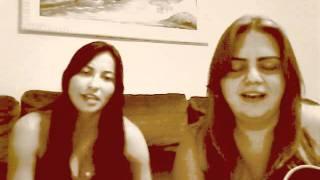 Rosa dourada (acoustic cover Paula Fernandes) - Gabi B. Mora & Bruna Moretto