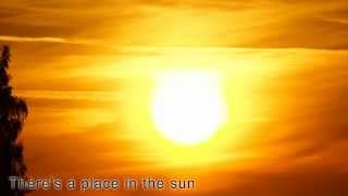 A Place In the Sun - Stevie Wonder (with lyrics)