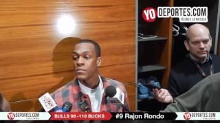 Rajon Rondo Chicago Bulls 96-116 Milwaukee Bucks