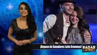 ¡Jesse y Joy, 3BallMty, Juanes Repaso de Ganadores Latin Grammy 2012!!!