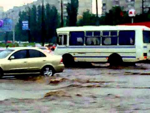Харьков в воде (Салтовка) 4.07.2011