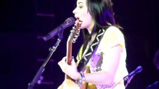 "Demi Lovato ""Two Worlds Collide"" LIVE"