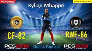 PES 2019 | All 18 Confirmed Black Ball Upgrades (DEMO - 08/08/2018)