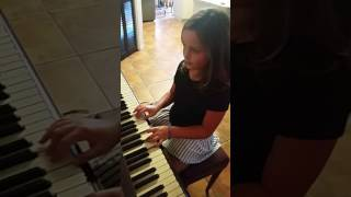 Grenade by Bruno Mars piano cover by Carly