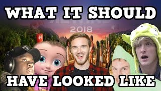 What YouTube Rewind 2018 Should Have Looked Like (ft. PewDiePie, Big Shaq, iDubbbzTV and Johny)