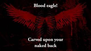 Amon Amarth - Blood eagle (lyrics)