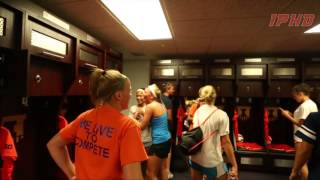 Illinois Soccer New Lockers Player Reaction