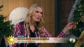 Nyblivna mamman Andrea Brodin pimpar tema-granar - Nyhetsmorgon (TV4)