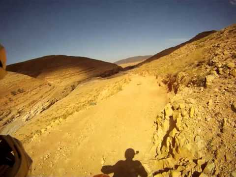 Honda transalp off-road ride in High Atlas, Morocco