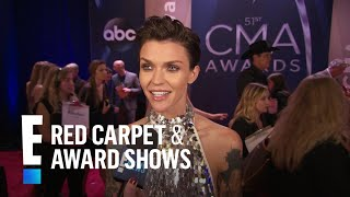 Ruby Rose Talks Taylor Swift's Secret Listening Parties | E! Live from the Red Carpet