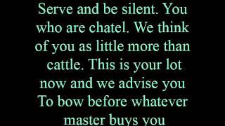 Marketplace - lyrics