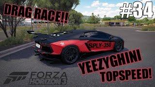 Lamborghini Yeezy? YEEZYGHINI  - Forza Horizon 3 Indonesia #34