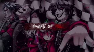 Nightcore - Shape of you (METAL COVER)