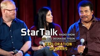 JIM GAFFIGAN & SARAH SILVERMAN: StarTalk with Neil deGrasse Tyson -  Curiosity Mars Rover