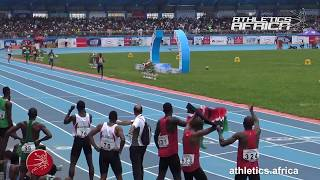 Men 4x400m Relay Final - African Senior Championships Asaba 2018