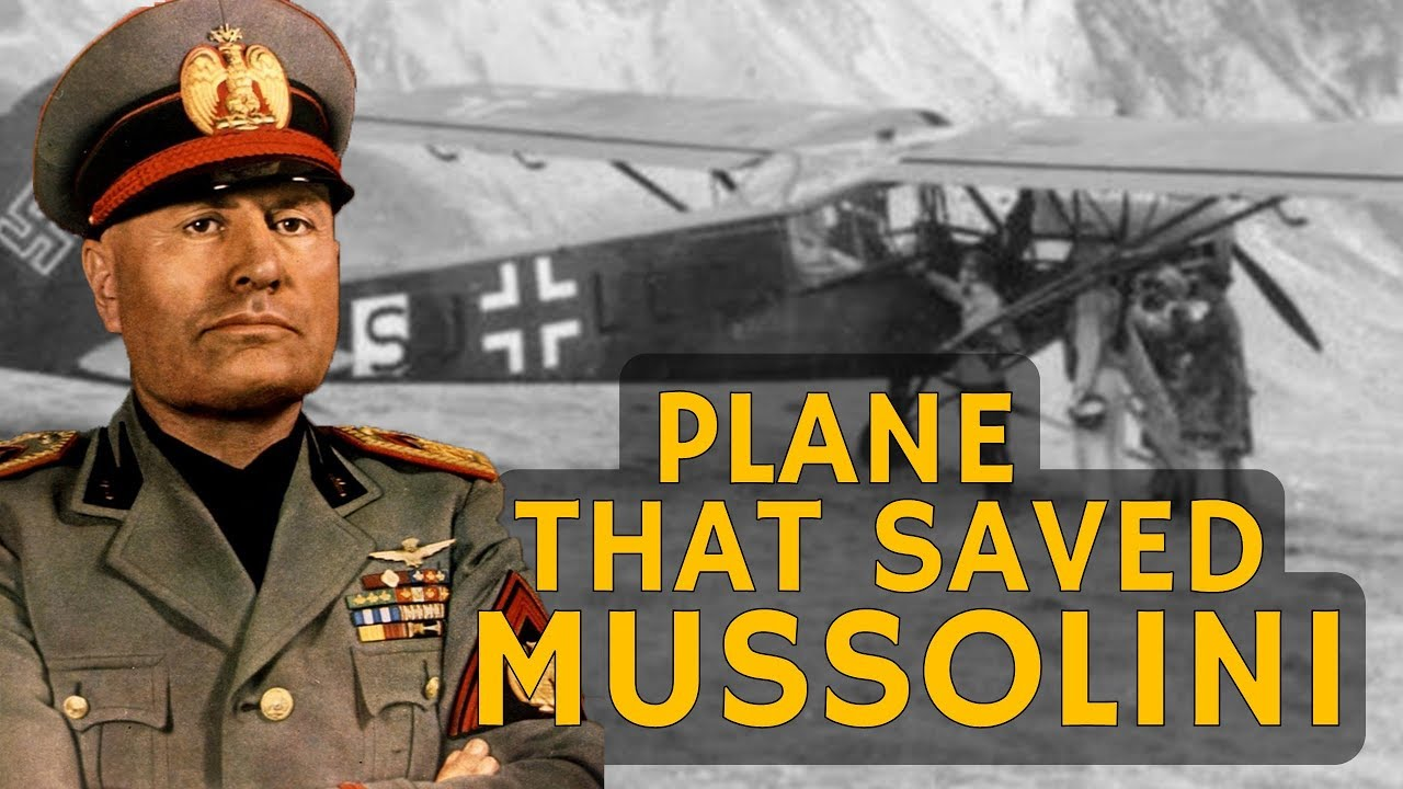 Fieseler 'Storch' Fi 156 – The Plane That Saved Mussolini