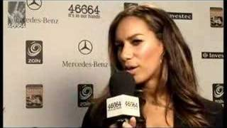46664 London - Leona Lewis Interview