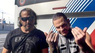 The Hardy Boyz envían un mensaje a los fans de WWE desde Roma