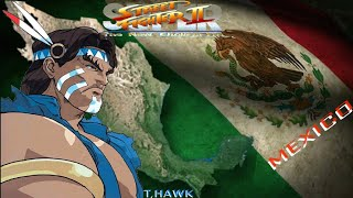 Super Street Fighters II The New Challengers, T,hawk es Geronimo en la vida real