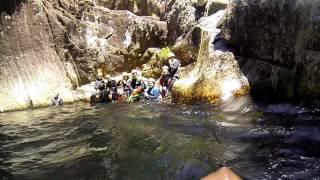 canyoning Arouca. Rio Frades inferior