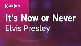 Karaoke It's Now or Never - Elvis Presley *